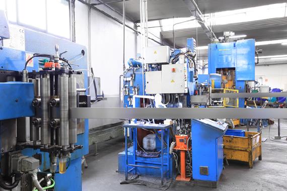 Estampación metálica de piezas para automoción